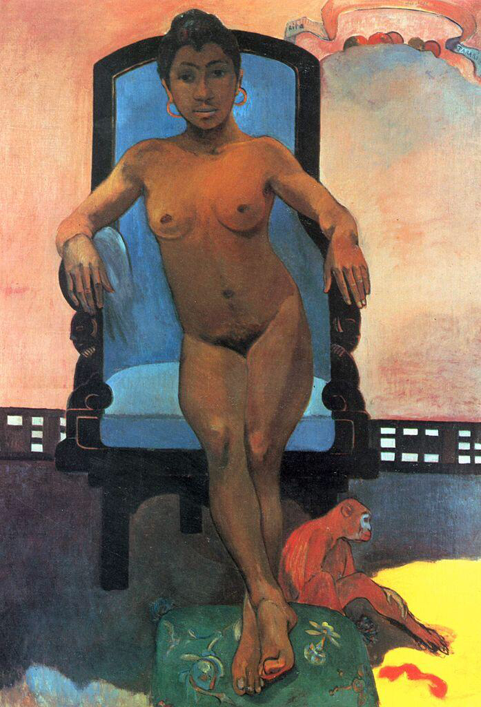 Annah, the Javanese - Paul Gauguin