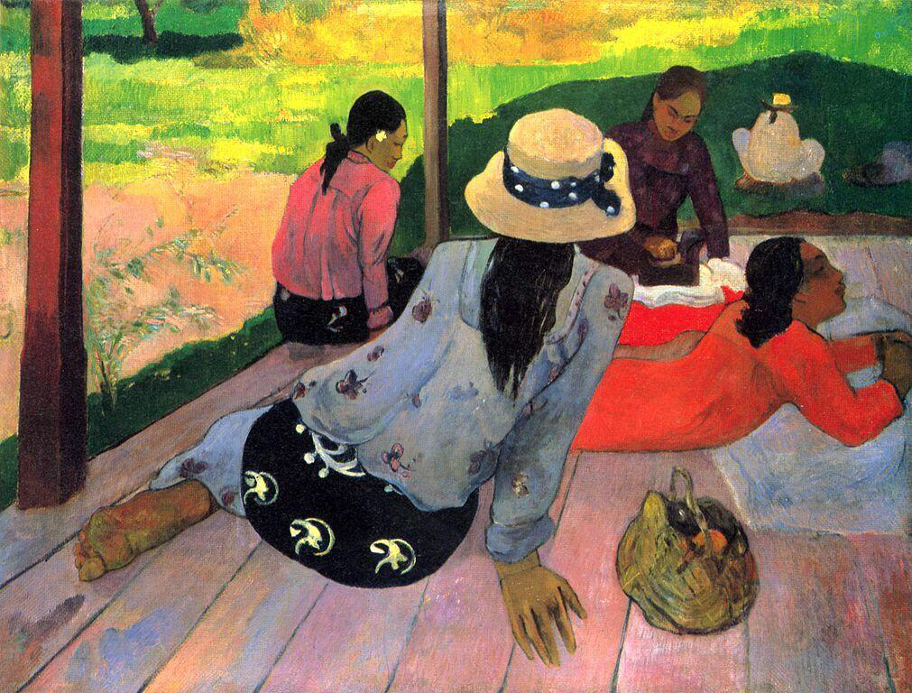 The Midday Nap - Paul Gauguin