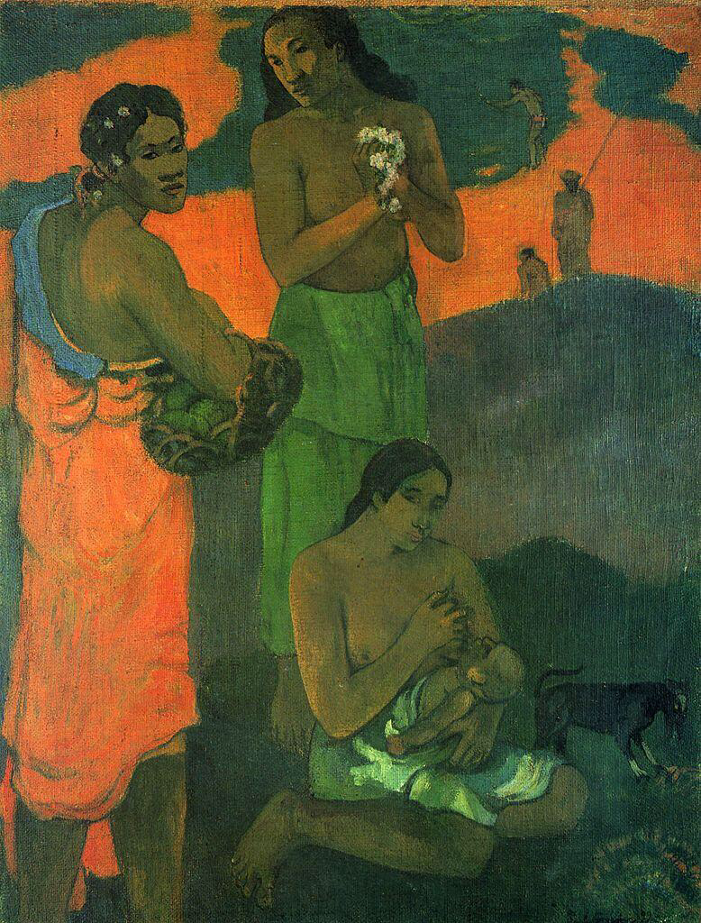 Maternity - Paul Gauguin