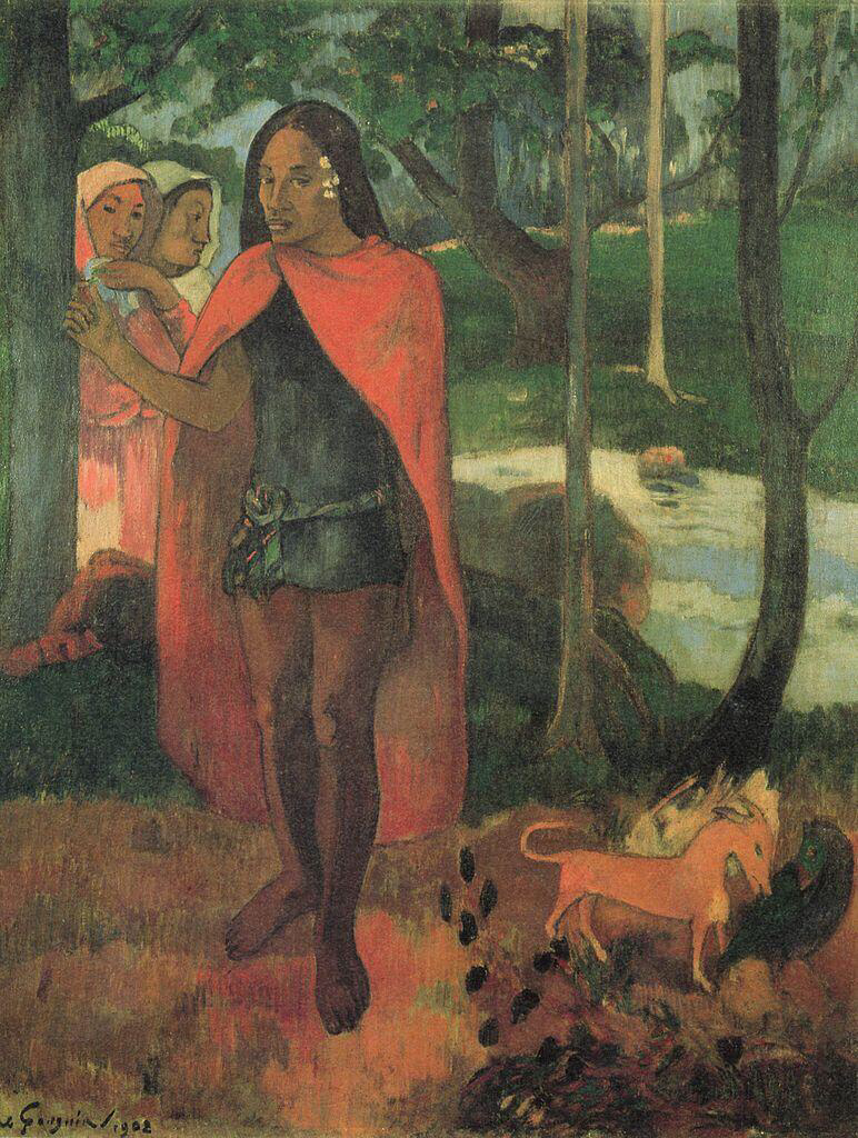 The Sorcerer of Hiva Oa - Paul Gauguin
