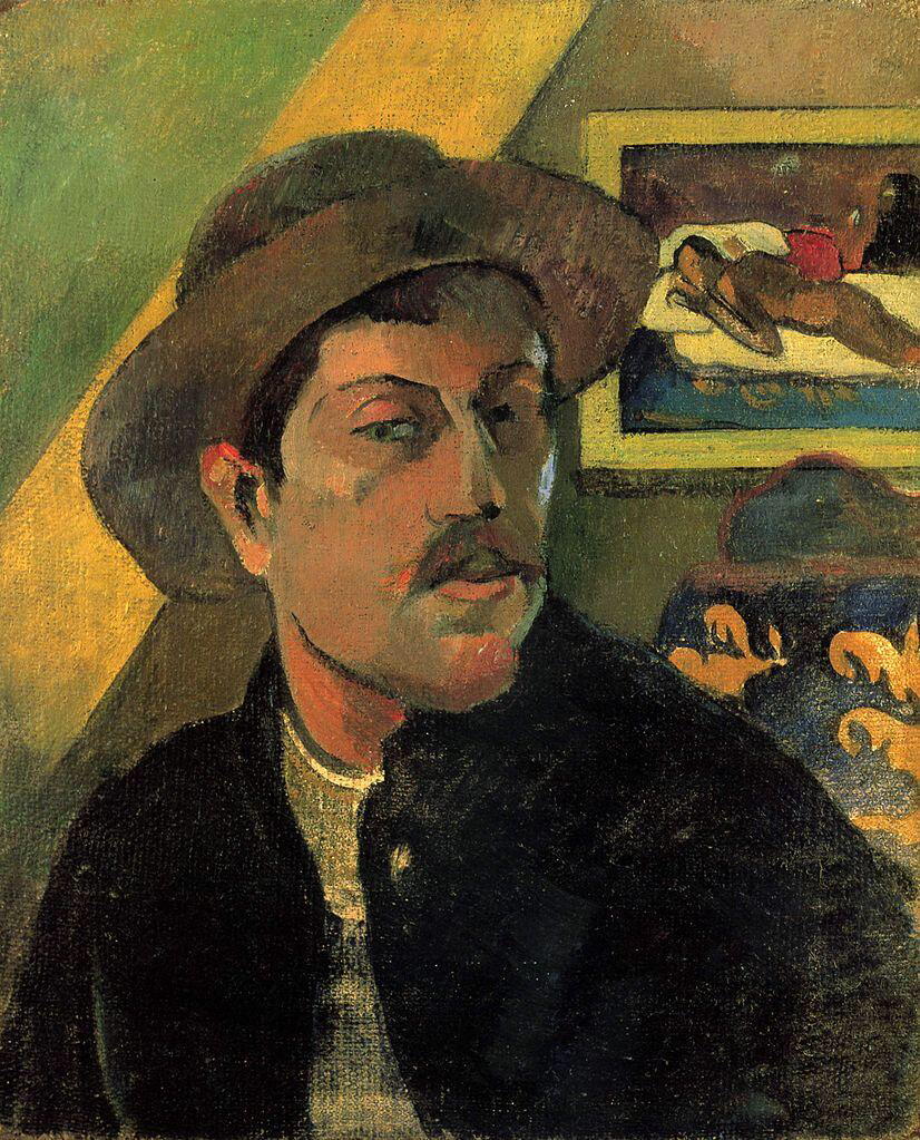 Self-portrait - Paul Gauguin