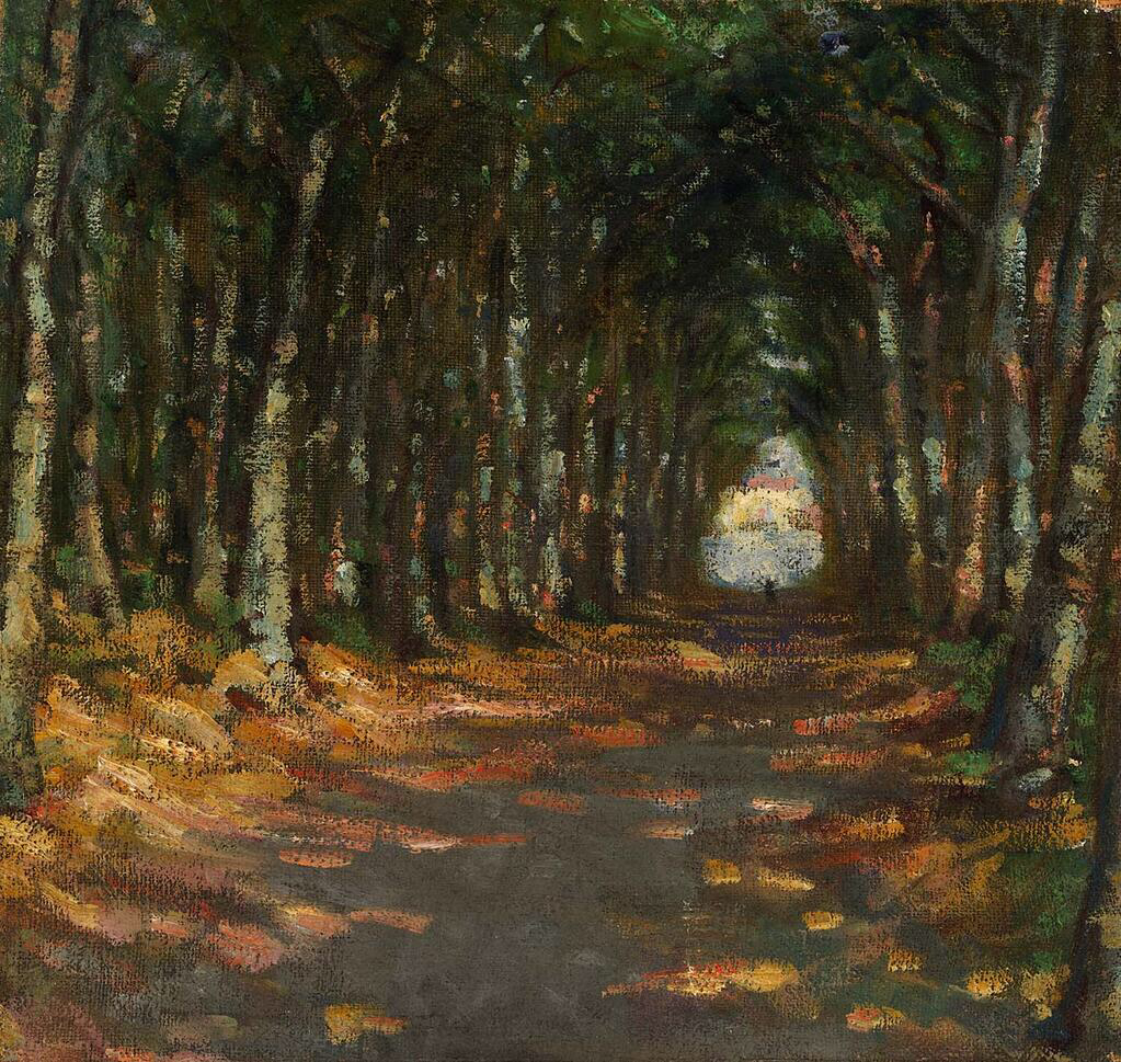 Allee in the Park - Alice Pike Barney