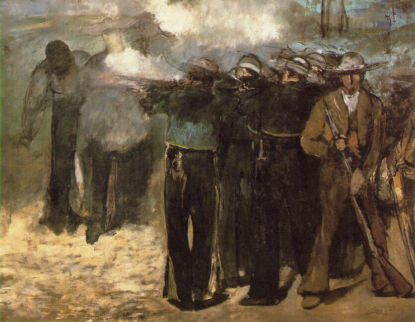 The Execution of Emperor Maximilian - Édouard Manet