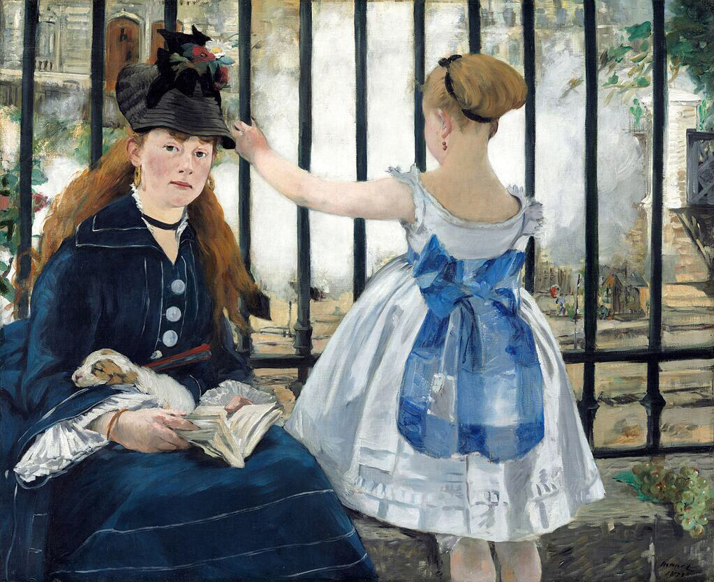 The Railway - Édouard Manet