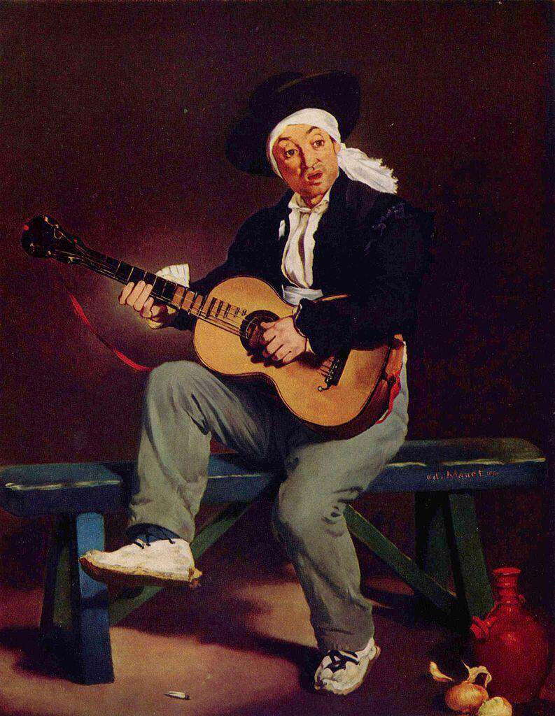 The Spanish Singer - Édouard Manet