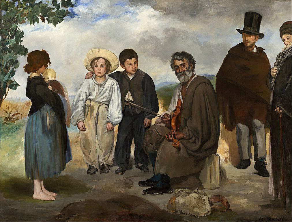 The Old Musician, National Gallery of Art - Édouard Manet