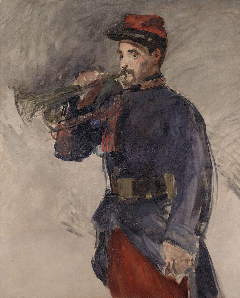 The Bugler - Édouard Manet