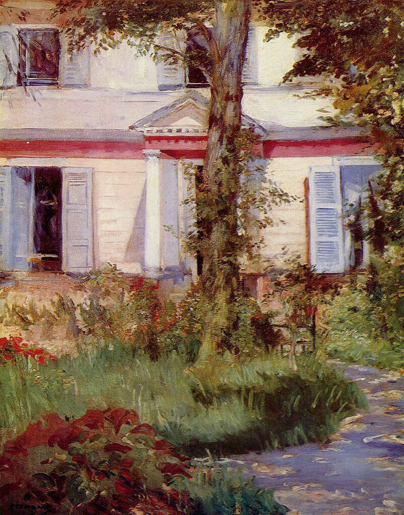 House in Rueil - Édouard Manet