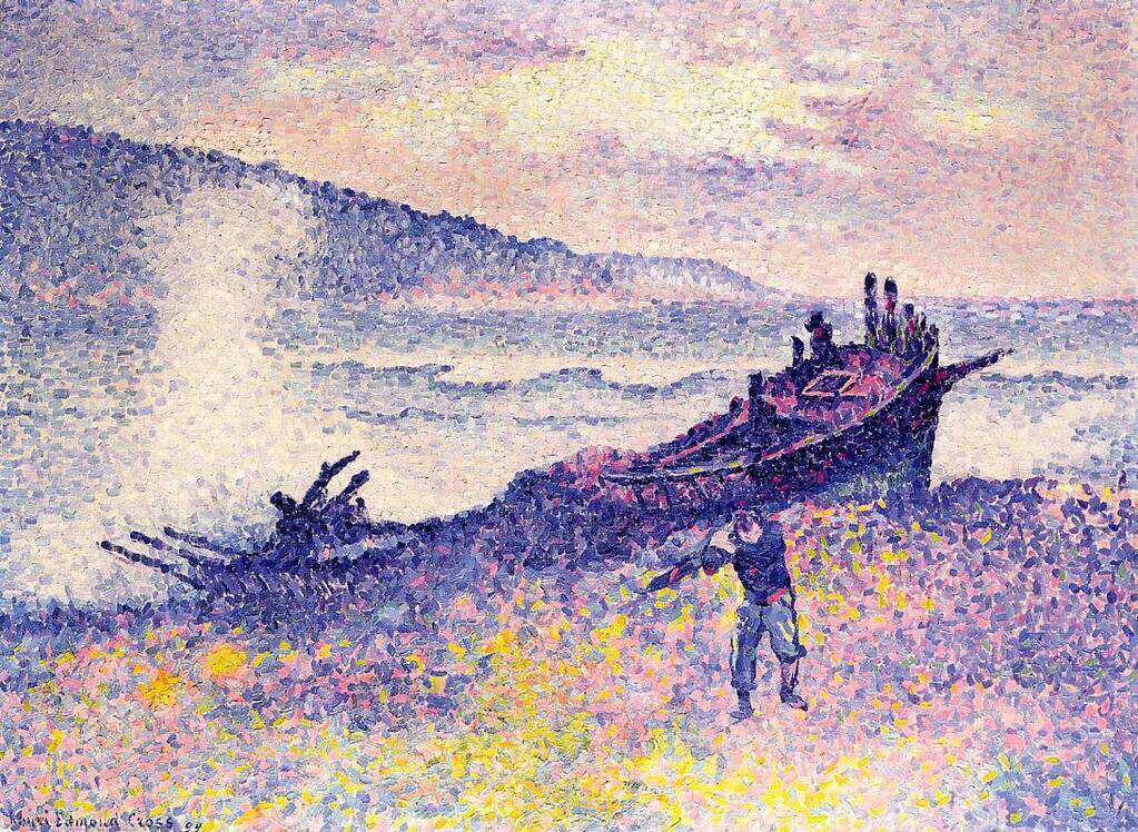 The Wreck - Henri-Edmond Cross