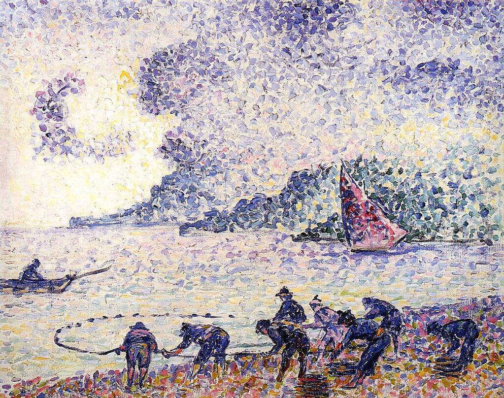 Fisherman - Henri-Edmond Cross