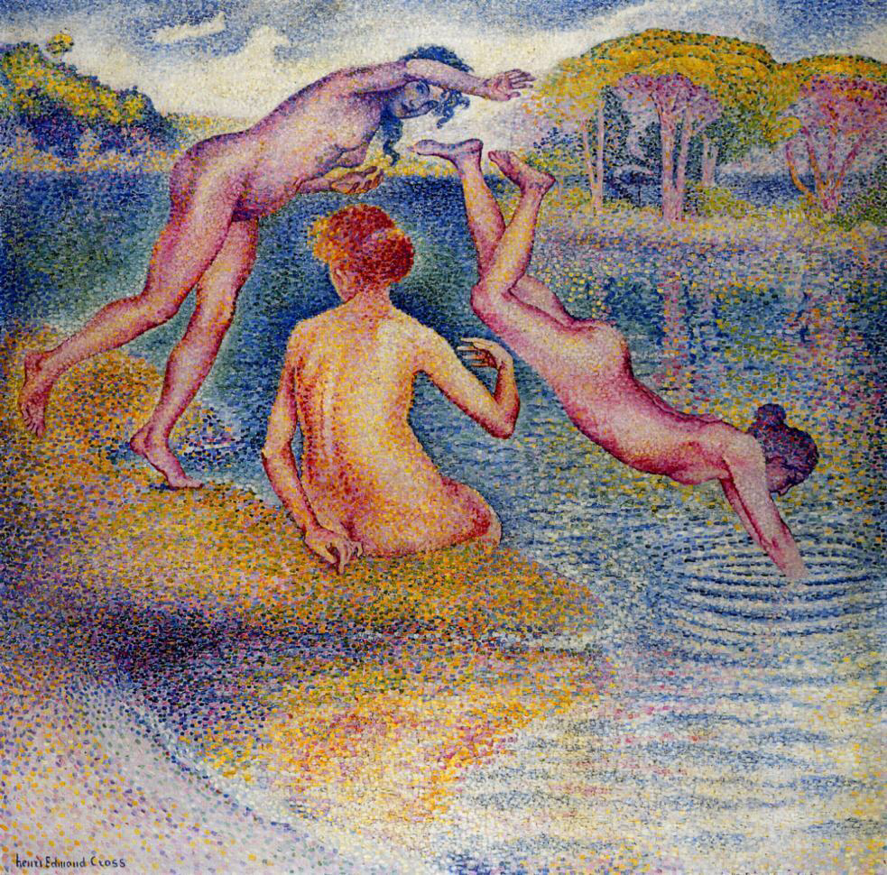 Bathers - Henri-Edmond Cross