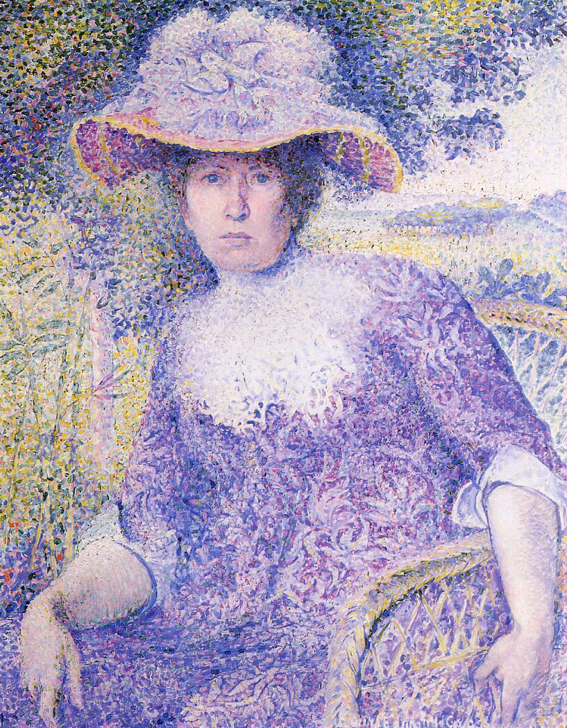 Portrait of Madame Cross - Henri-Edmond Cross