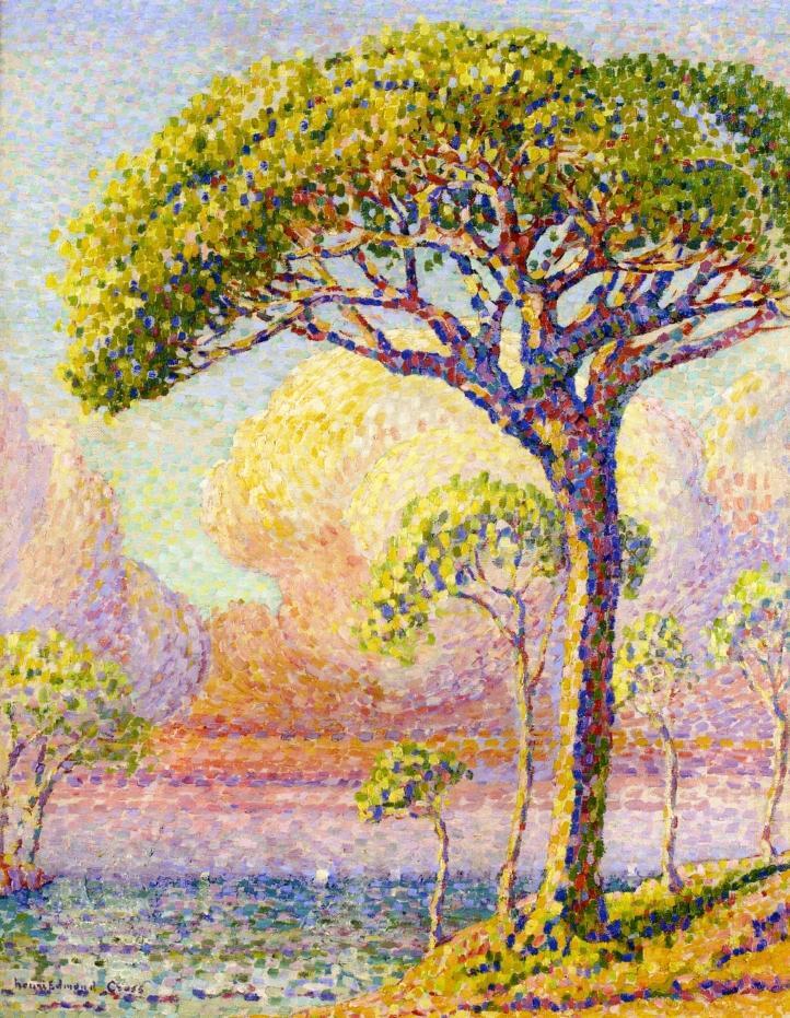 A Pine - Henri-Edmond Cross