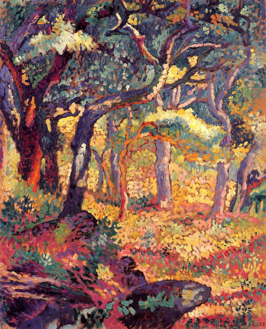 Study for 'The Clearing' - Henri-Edmond Cross