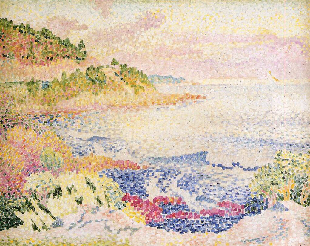 Coast of Provence, Le Four des Maures - Henri-Edmond Cross