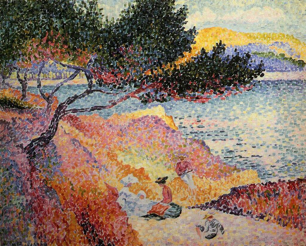 The Bay at Cavaliere - Henri-Edmond Cross