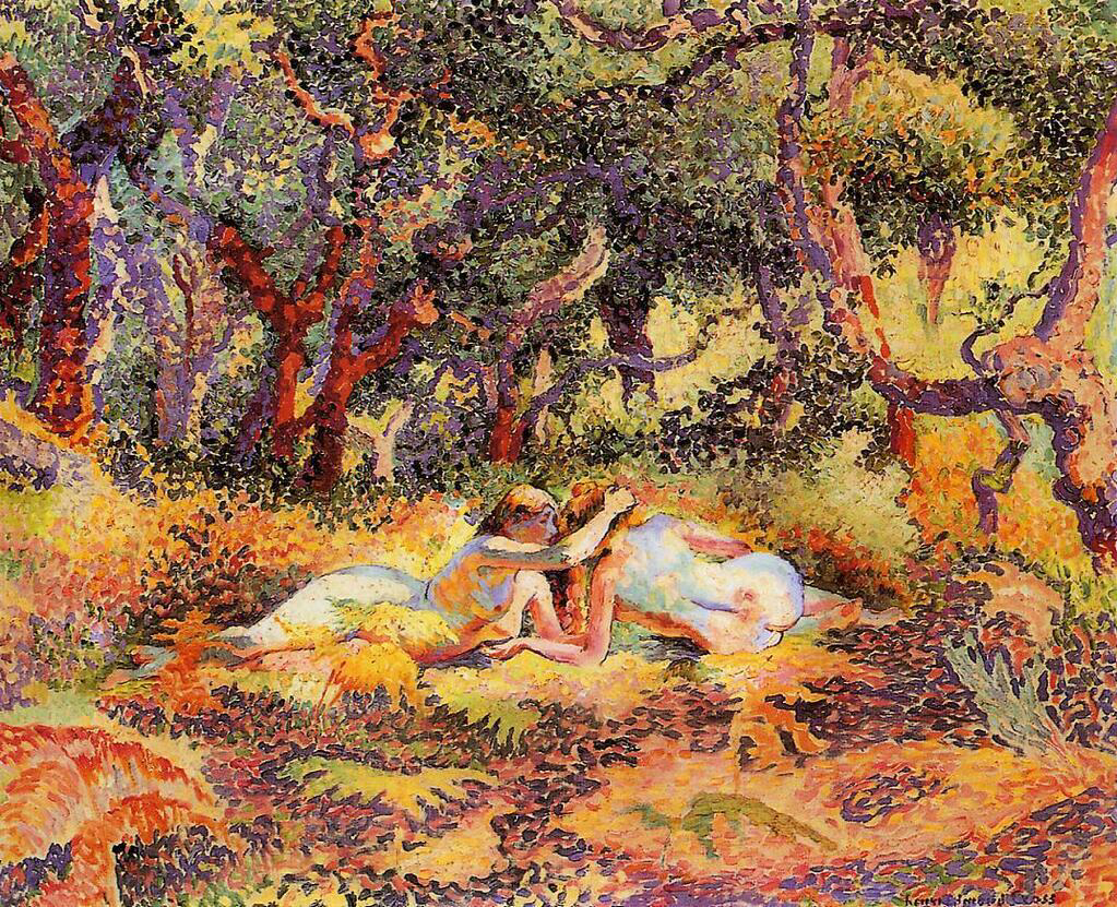 The Forest - Henri-Edmond Cross