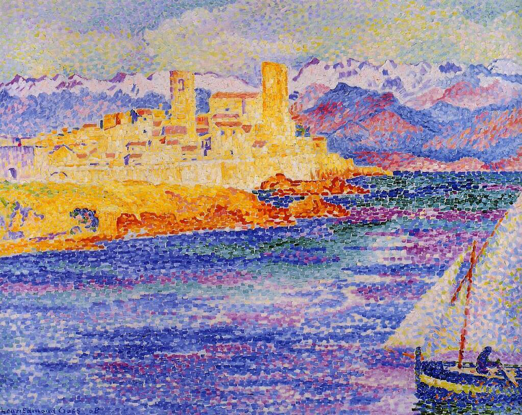 Antibes - Henri-Edmond Cross