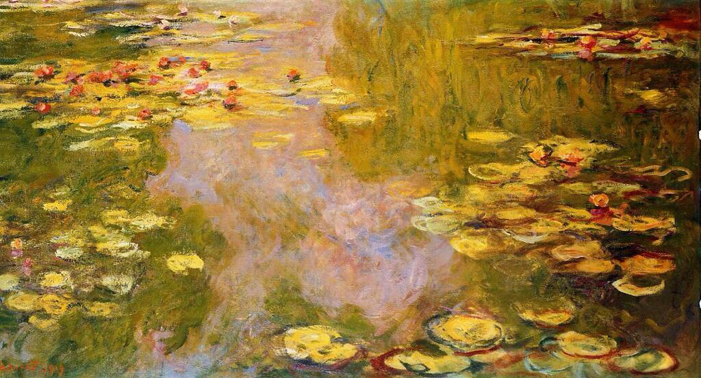 The Water-Lily Pond - Claude Monet