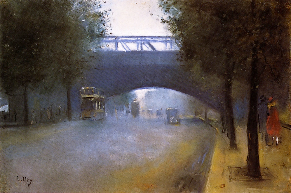 Charing Cross, London - Lesser Ury