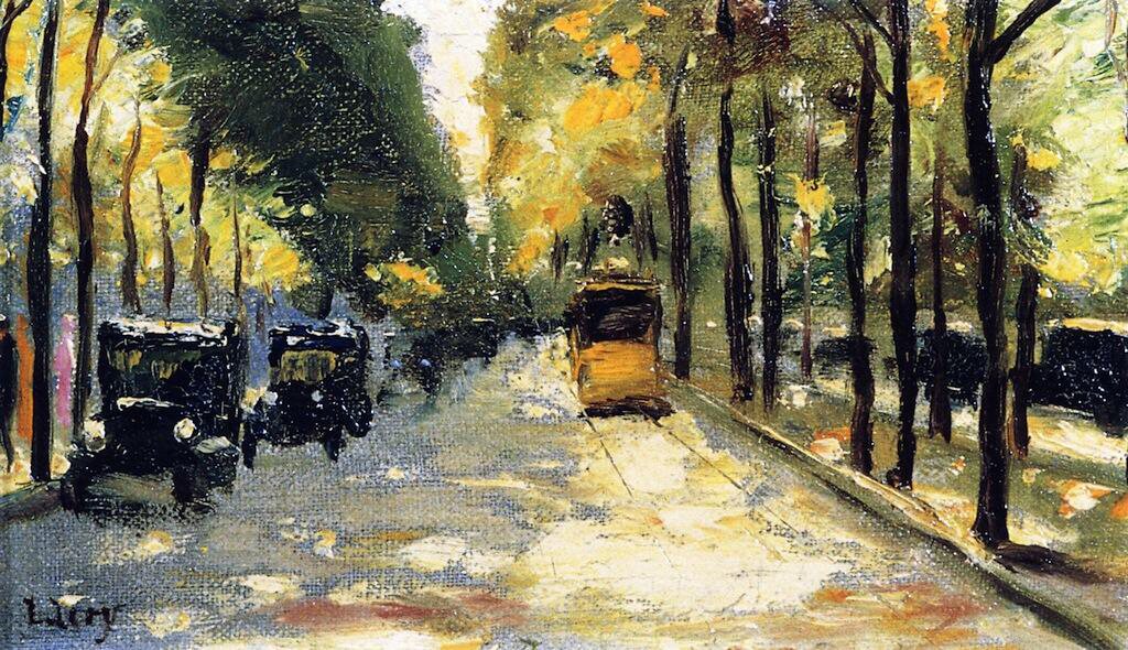 Berlin Street in the Sunshine - Lesser Ury
