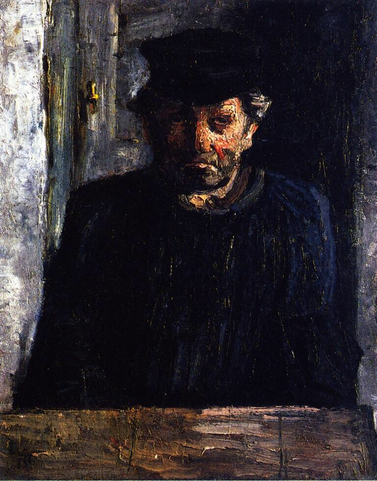 Bust of a Belgian Worker - Lesser Ury