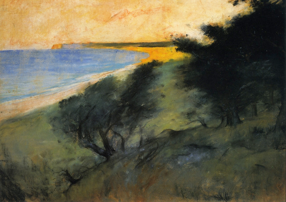 The Coast of Rügen - Lesser Ury