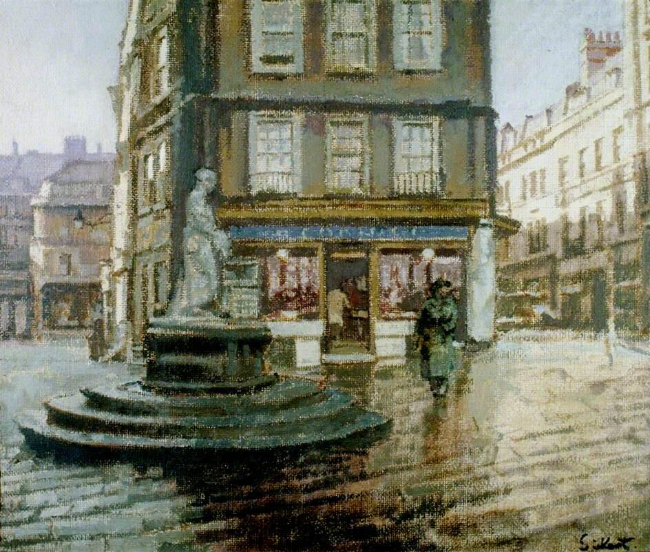 Abbey Yard - Walter Richard Sickert