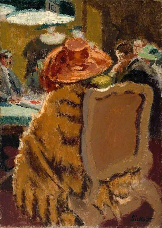 Baccarat – the Fur Cape - Walter Richard Sickert