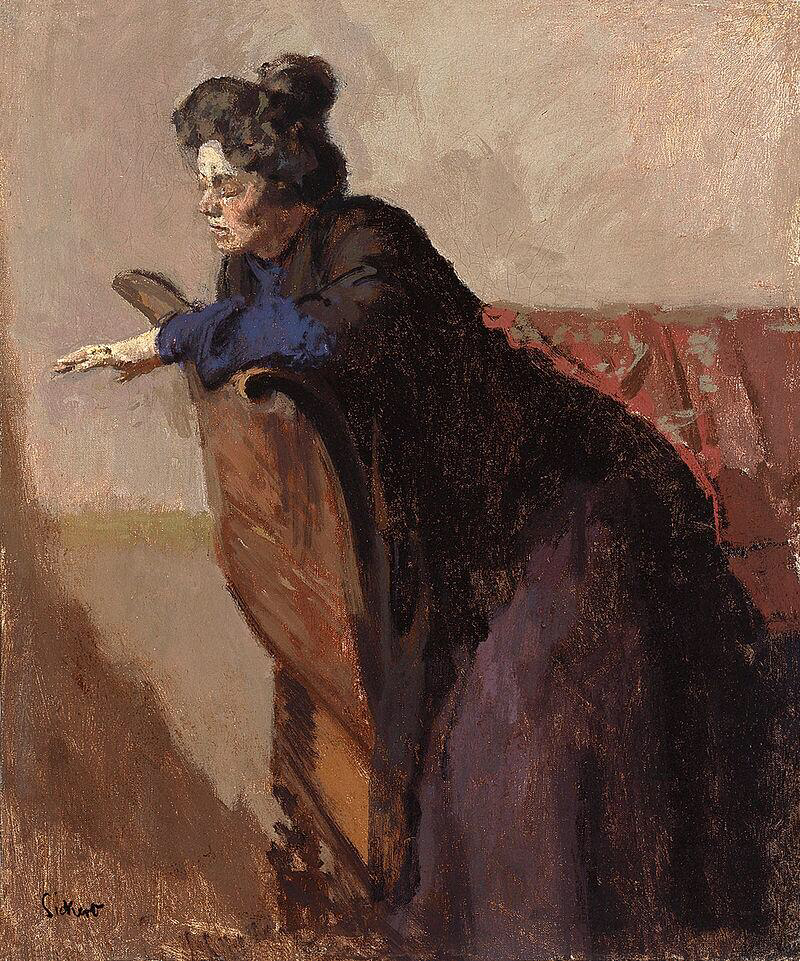 La Giuseppina, the Ring - Walter Richard Sickert