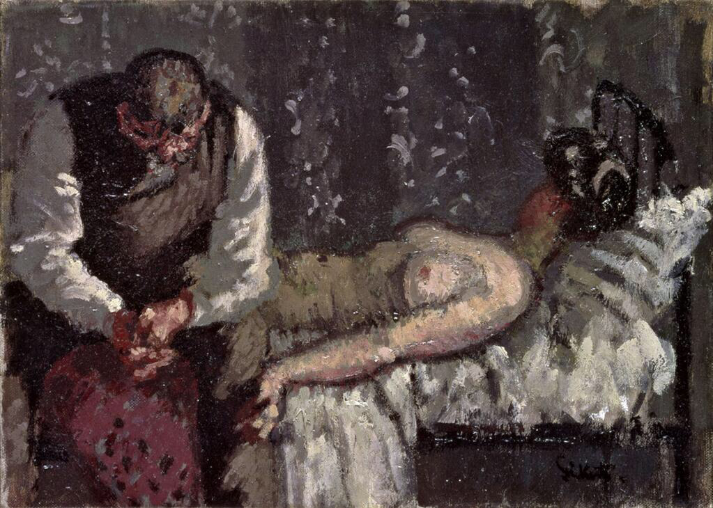 The Camden Town Murder - Walter Richard Sickert