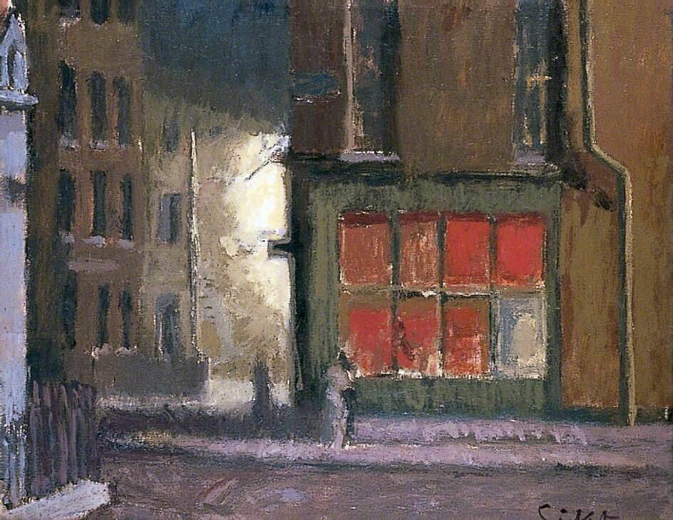 Hotel de Commerce - Walter Richard Sickert