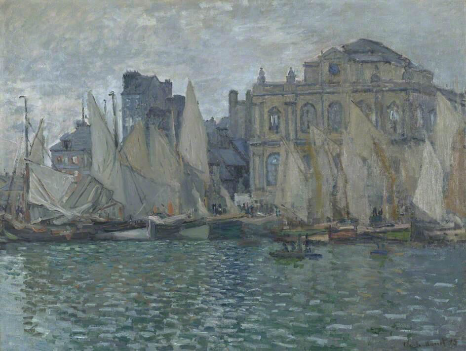 The Museum at Le Havre - Claude Monet