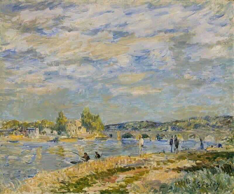 The Bridge at Sèvres - Alfred Sisley