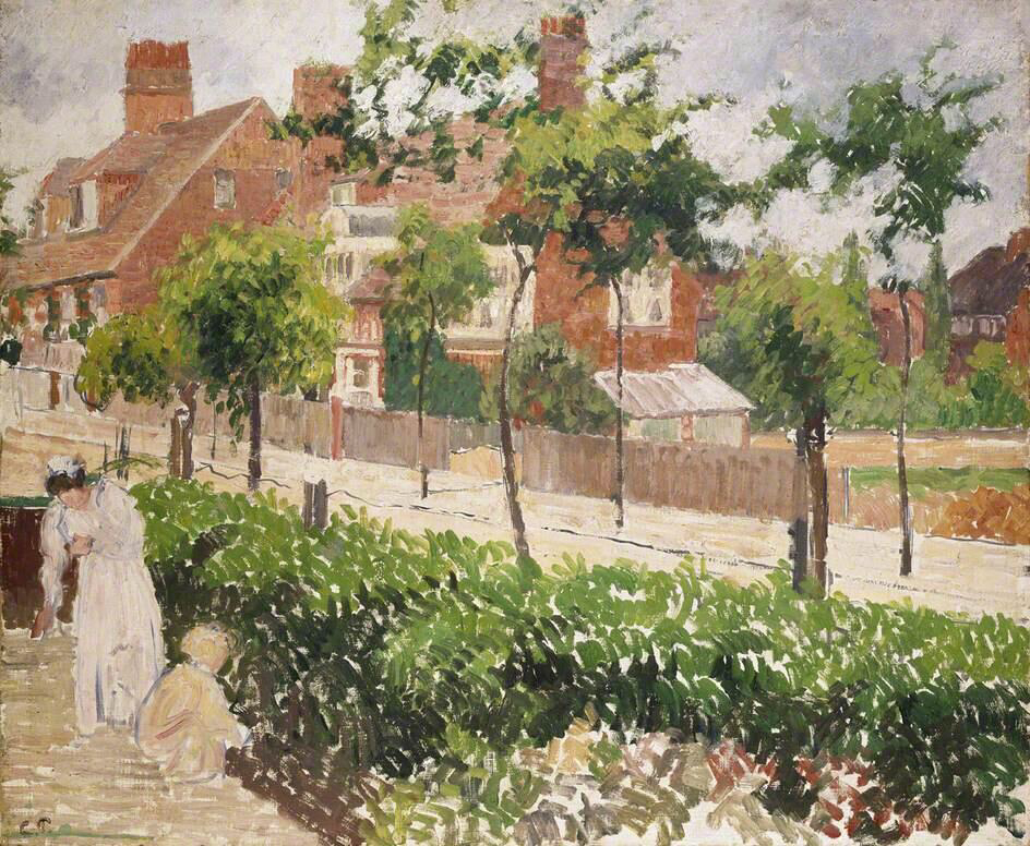 Bath Road, London - Camille Pissarro