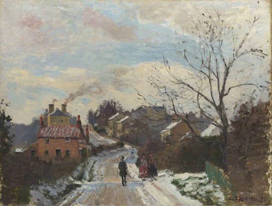 Fox Hill, Upper Norwood - Camille Pissarro