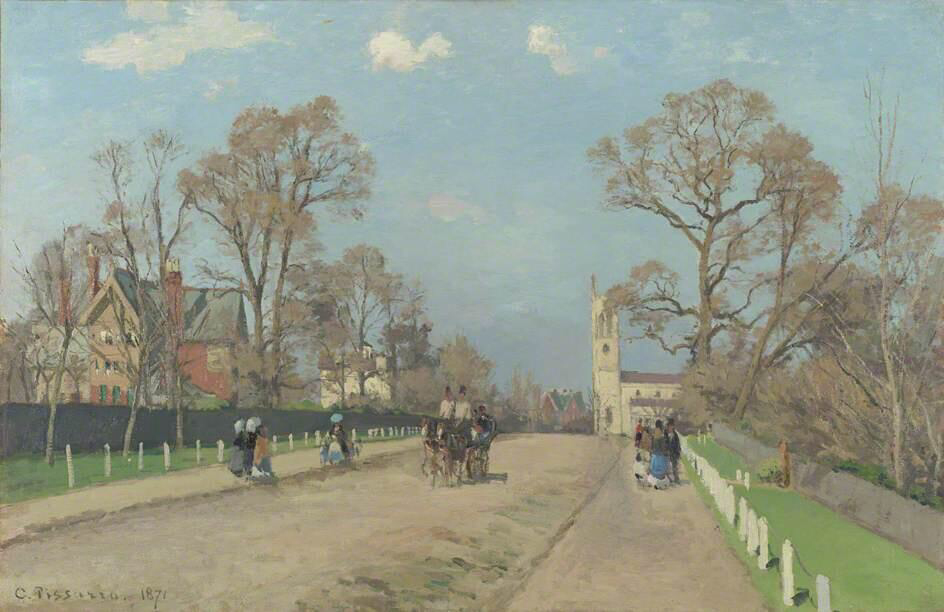 The Avenue, Sydenham - Camille Pissarro