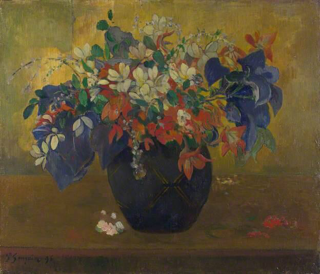 A Vase of Flowers - Paul Gauguin