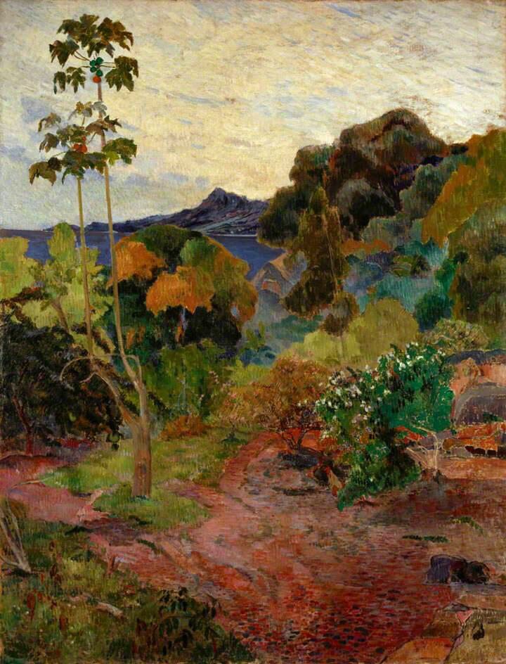 Martinique Landscape - Paul Gauguin