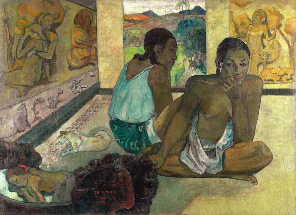 Te Rerioa - Paul Gauguin