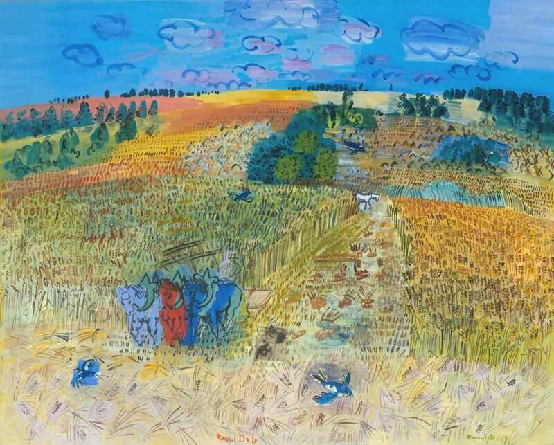 The Wheatfield - Raoul Dufy