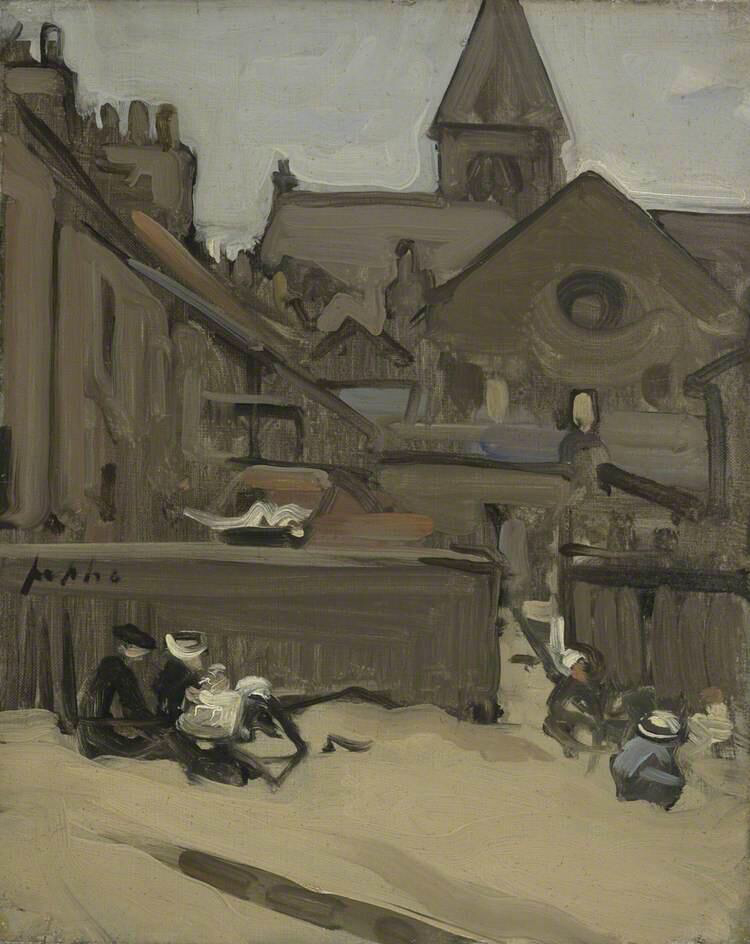 North Berwick Sands - Samuel John Peploe