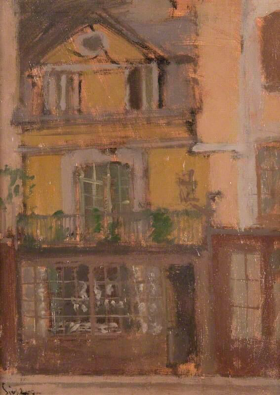 A Shop in Dieppe - Walter Richard Sickert