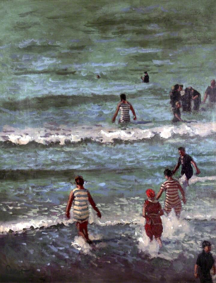 Bathers, Dieppe - Walter Richard Sickert