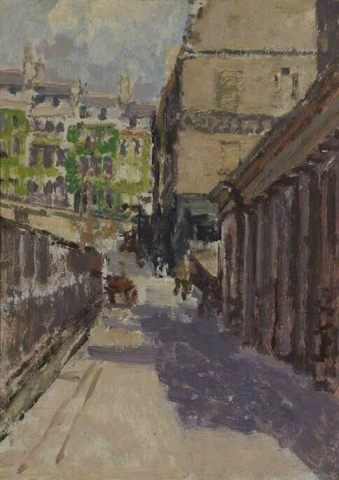Belmount and Back of Assembly Rooms - Walter Richard Sickert