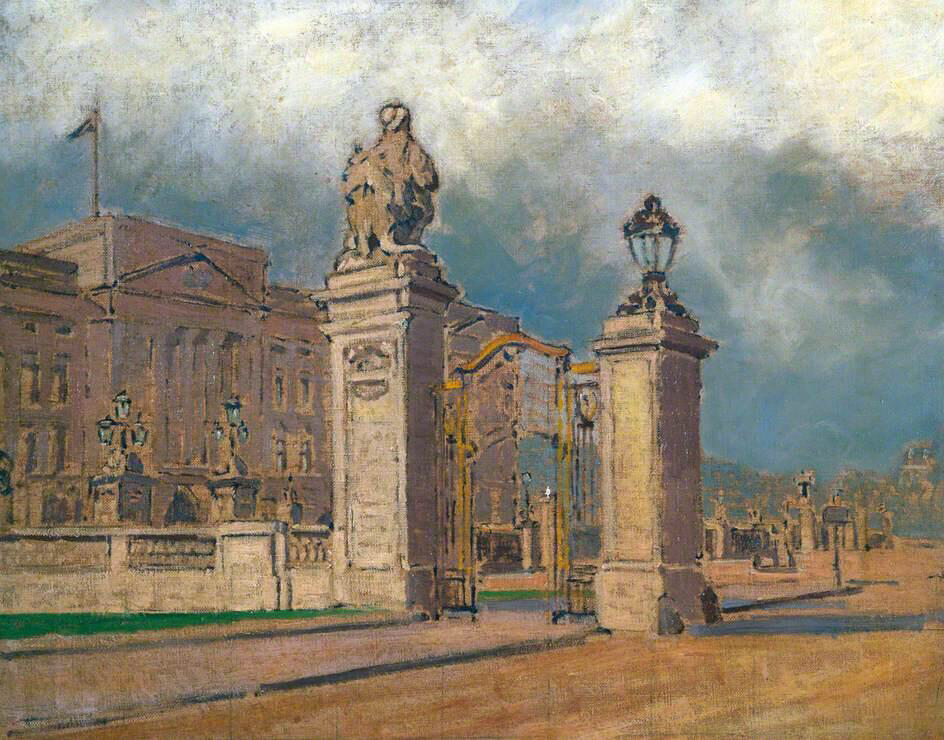 Buckingham Palace - Walter Richard Sickert