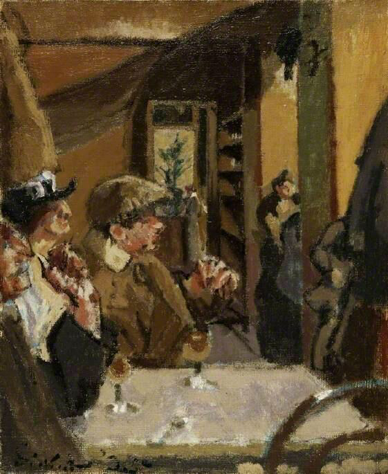 Chez Vernet - Walter Richard Sickert