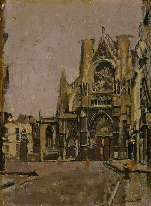 Church of St Jacques, Dieppe - Walter Richard Sickert