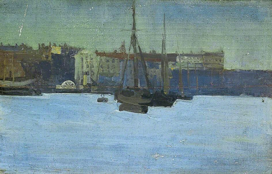 Dieppe Harbour, France - Walter Richard Sickert