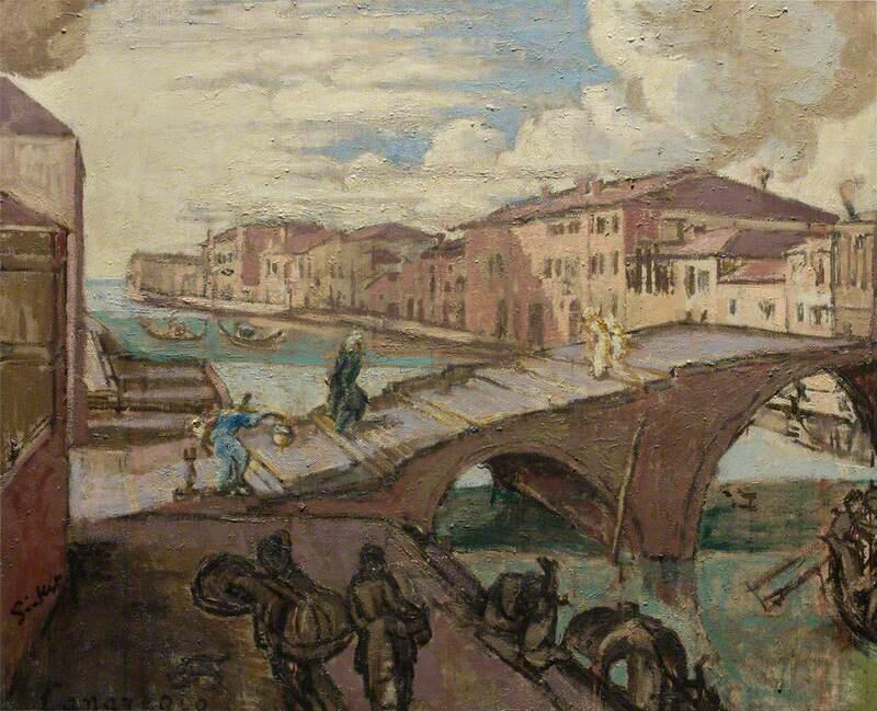 Il Cannaregio, Venezia - Walter Richard Sickert